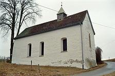 Zeilenkapelle St. Sebastian, Südostansicht / Zeilenkapelle St. Sebastian in 78576 Emmingen-Liptingen (Bildarchiv, Landesamt für Denkmalpflege)