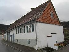 Deilingen, An der Steig 30 / Kleinbäuerliches Wohnhaus in 78586 Deilingen (23.12.2013 - Bildarchiv, Landesamt für Denkmalpflege im Regierungspräsidium Stuttgart, Dienstsitz Freiburg)