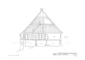 Querschnitt / Abgegangenes Wohnhaus in 72175 Dornhan-Gundelshausen (Stefan King)