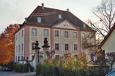 Nordostansicht / Schloss Munzingen in 79112 Freiburg, Munzingen (Bildarchiv Freiburg, Landesamt für Denkmalpflege)