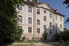 Südfassade / Schloss Munzingen in 79112 Freiburg, Munzingen (Bildarchiv Freiburg, Landesamt für Denkmalpflege)