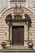 Eingangsportal Südfassade / Schloss Munzingen in 79112 Freiburg, Munzingen (Bildarchiv Freiburg, Landesamt für Denkmalpflege)