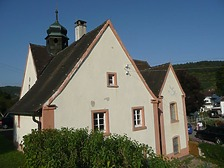Südansicht / St. Anna-Kapelle (Einsiedelei)  in 78567 Fridingen, Fridingen an der Donau (Bildarchiv Landesamt für Denkmalpflege, Dienstsitz Freiburg)