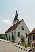 Nordwestansicht / St. Michael in 78187 Geisingen-Leipferdingen (Bildarchiv, Landesamt für Denkmalpflege, Dienstsitz Freiburg)