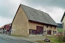 """Südwestansicht / Abgegangenes """"Wagner"""" Haus in 78194 Immendingen-Ippingen (Bildarchiv, Landesamt für Denkmalpflege, Dienstsitz Freiburg)"""
