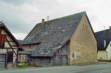"""Nordwestansicht / Abgegangenes """"Wagner"""" Haus in 78194 Immendingen-Ippingen (Bildarchiv, Landesamt für Denkmalpflege, Dienstsitz Freiburg)"""