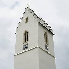Ansicht / Kirchturm Heiligkreuz in 78559 Gosheim (Stefan King)