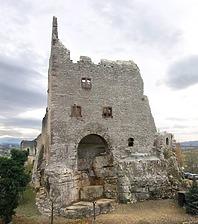 Ansicht / Burgruine Landeck (Obere Burg) in 79312 Teningen- Landeck (Stefan King)