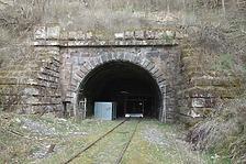 Forsttunnel zwischen Althengstätt und Dätzingen mit Inschrift 1871 / Württembergische Schwarzwaldbahn in  keine genauere Zuordnung (10.04.2018 - wifu)