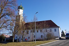 Ehem. Franziskanerkloster - Westansicht / Ehem. Franziskanerkloster in 89584 Ehingen (Donau) (15.02.2019 - Christin Aghegian-Rampf)