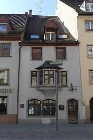 """Birkenstraße 16 / Ehem. Gaststätte """"Fortuna Brauerei"""" in 78050 Villingen (06.04.2018 - Burghard Lohrum)"""