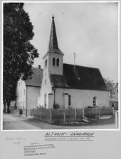 Zähringen, ev. Kirche- Südostansicht / Ev. Kirche St. Maria Magdalena in 89174 Altheim (Alb)-Zähringen (Bildarchiv, LAD, Reg.bez. Tübingen)