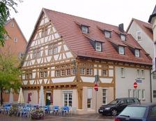 Gesamtansicht von Südwest / Fachwerkhaus in 73235 Weilheim an der Teck (Tilmann Marstaller)