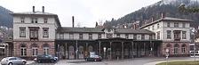 Fassade Ost / Bahnhof in 75323 Bad Wildbad (Julia Feldtkeller)