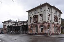 Fassade Nordost / Bahnhof in 75323 Bad Wildbad (Julia Feldtkeller)