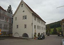 Ansicht von Nordwest (2009) / Hauptgebäude, Haupt- und Landgestüt Marbach in 72532 Gommadingen, Marbach an der Lauter, Landgestüt