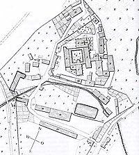 Gesamtplan von Bebenhausen (nach dem Urkatasterplan von 1825)  / Klosteranlage (ehemalige Zisterzienserabtei) in 72074 Tübingen-Bebenhausen