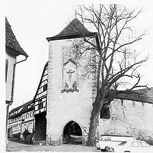 Ansicht des Schreibturms von Südwesten (Quelle: Bildarchiv Foto Marburg) / Schreibturm (Inneres Tor) in 72070 Tübingen-Bebenhausen