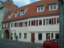 Das Torhaus nach der Sanierung im Jahr 2000 / Torgebäude mit Wohnhaus in 73728 Esslingen am Neckar