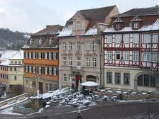Südansicht der Gebäudegruppe (2006) / Wohnhaus in 74523 Schwäbisch Hall (07.03.2006 - privat)