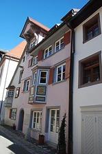 Rottweil, Badgasse 5 - Wohnhaus, Südwestansicht / Wohnhaus in 78628 Rottweil, Altstadt (Landesamt für Denkmalpflege Freiburg, Bildarchiv)