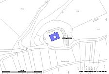 Vorlage RPS-LAD und LV-BW / Schloss Roseck in 72070 Tübingen-Unterjesingen, Roseck