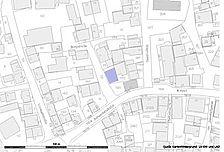 Lageplan (Vorlage LV BW und RPS LAD) / Wohnstallhaus  in 72119 Ammerbuch - Altingen