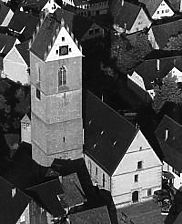 Nordwestansicht / Mauritiuskirche in 72131 Ofterdingen