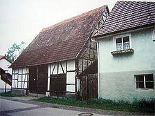 Südwest-Ansicht von der Burgstraße aus / Fachwerkhaus in 72119 Ammerbuch - Altingen