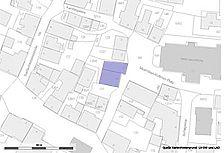 Lageplan (Vorlage lV BW und RPS LAD)  / Bürgerhaus in 89601 Schelklingen