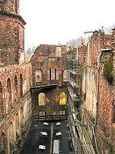 Innenansicht der Ruine / Gläserner Saalbau in 69117 Heidelberg, Altstadt