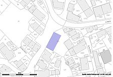 Lageplan (Vorlage: LV-BW und LAD) / Wohnhaus in 72138 Kirchentellinsfurt