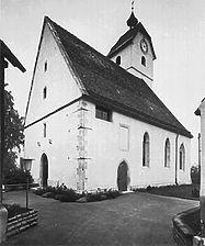 Bildarchiv Foto Marburg / Ev. Veitskirche, Kirchturm in 72147 Nehren