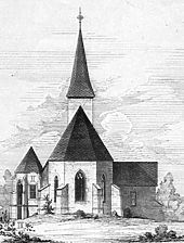 Adelsheim St. Jacob, Ansicht Ost / St. Jacobskirche in 74740 Adelsheim