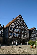 Dornstetten, Marktplatz 2, Ansicht vom Marktplatz / ehem. Gasthof Ochsen in 72280 Dornstetten