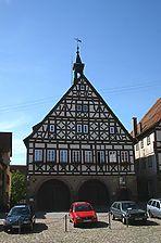 Dornstetten, Marktplatz 1, Ansicht Marktplatz / Rathaus in 72280 Dornstetten