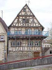 Ansicht von Osten vor der Renovierung / Wohnhaus in 72119 Ammerbuch - Altingen