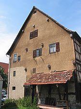 Südgiebel / Wohn-Scheunen-Gebäude in 73630 Remshalden-Hebsack