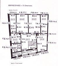 Baden-Baden, Steinbach, Im Kirchwinkel 10, Grundriss Obergeschoss / Wohnhaus in 76534 Baden-Baden, Steinbach