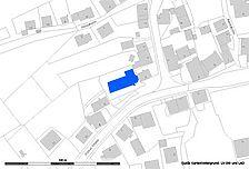 Lageplan 2006 (Vorlage LV-BW und RPS LAD) / katholische Pfarrkirche in 72181 Starzach - Börstingen
