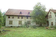 Glashütte Buhlbach, ehemaliges Flaschenmagazin, später Jugendherberge. / Flaschenmagazin in 72270 Baiersbronn - Buhlbach (25.08.2004 - Michael Hermann)