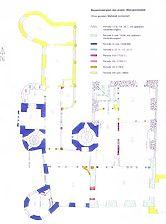 Baden-Baden, Schloß Neuweier, Bauperiodenplan OG 1 / Schloss Neuweier in 76534 Baden-Baden, Neuweier