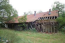 Glashütte Buhlbach: Ehemalige Ziegelei, später Stall. Ansicht von Norden. / Ziegelei  in 72270 Baiersbronn - Buhlbach (25.08.2004 - Michael Hermann)
