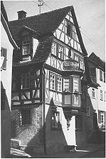 Bildarchiv Foto Marburg  / sog. Altes Amtshaus, Haus Taurinus in 74665 Ingelfingen