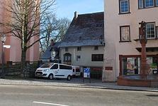 Rottweiil. Lorenzgasse 3, Westansicht / Wohn- und Geschäftshaus in 78628 Rottweil, Altstadt (Fotoarchiv Freiburg, Landesamt für Denkmalpflege)