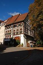 Südostansicht  / Wohnhaus in 78628 Rottweil, Altstadt (Bildarchiv Freiburg, Landesamt für Denkmalpflege )