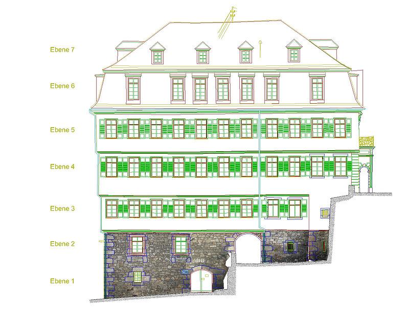 Alte Aula » Objektansicht » Datenbank Bauforschung/ Restaurierung