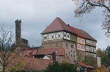 Ansicht von Südwest / Obere Burg  in 74388 Talheim