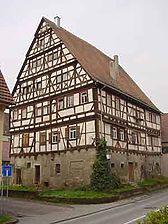 Altingen, Schwedenstraße 28, Ostgiebel und Nordtraufe 2003. / Schwedenhaus  in 72117 Ammerbuch - Altingen