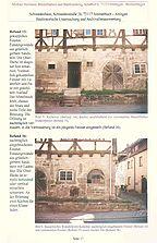 Auszug aus dem Untersuchungsbericht / Schwedenhaus  in 72117 Ammerbuch - Altingen